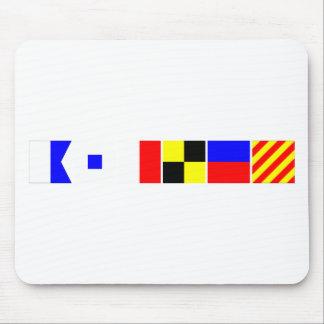 Bandera de código Ashley Tapete De Ratón