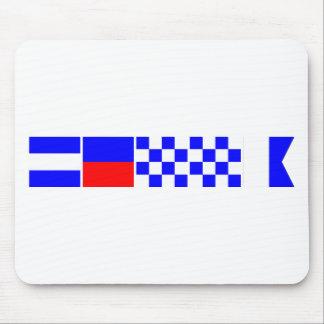 Bandera de código Jenna Mousepad
