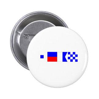 Bandera de código Sean Pin Redondo 5 Cm
