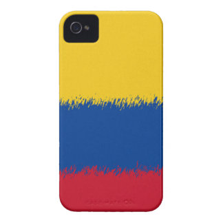 Bandera de Colmbian iPhone 4 Case-Mate Cobertura