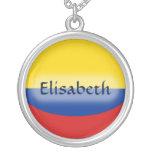 Bandera de Colombia + Collar conocido