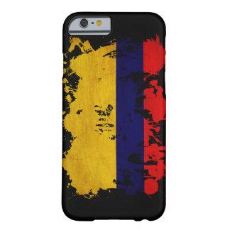 Bandera de Colombia Funda De iPhone 6 Barely There