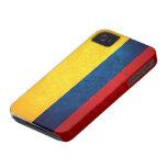 Bandera de Colombia iPhone 4 Case-Mate Cárcasas