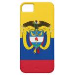 Bandera de Colombia iPhone 5 Carcasa