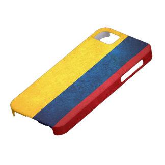 Bandera de Colombia iPhone 5 Funda