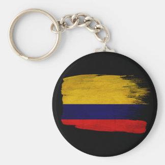 Bandera de Colombia Llavero Redondo Tipo Pin