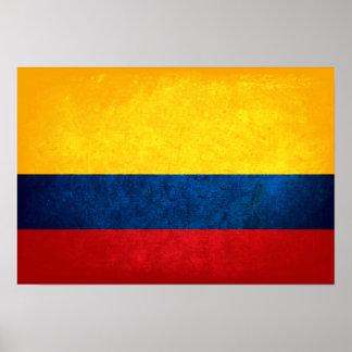 Bandera de Colombia Impresiones