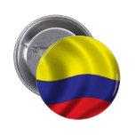 Bandera de Colombia Pin Redondo De 2 Pulgadas