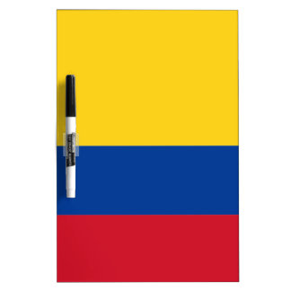 Bandera de Colombia Pizarras