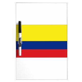 Bandera de Colombia Pizarra