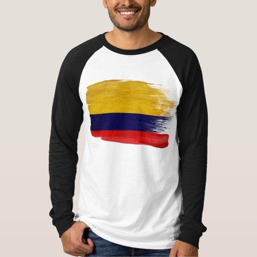 Bandera de Colombia Playeras