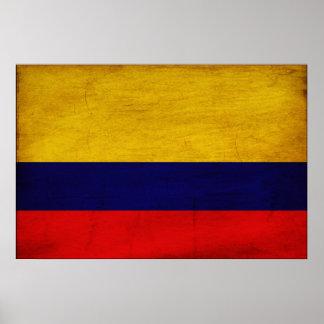 Bandera de Colombia Póster