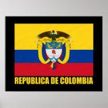 Bandera de Colombia y COA Impresiones