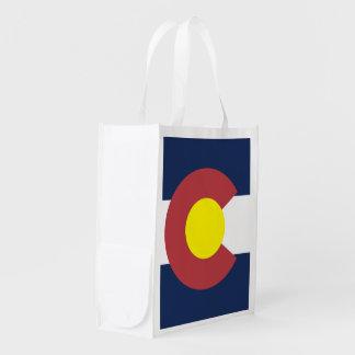 Bandera de Colorado Bolsa Para La Compra