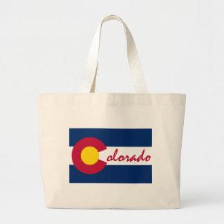 Bandera de Colorado Bolsa Tela Grande