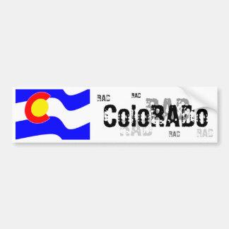 Bandera de Colorado Pegatina Para Auto