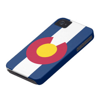 Bandera de Colorado Case-Mate iPhone 4 Cobertura