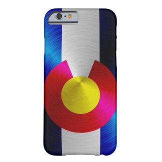 Bandera de Colorado; caso del iPhone 6 de la Funda De iPhone 6 Barely There