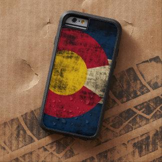 Bandera de Colorado del Grunge Funda De iPhone 6 Tough Xtreme