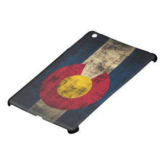 Bandera de Colorado del Grunge iPad Mini Protectores