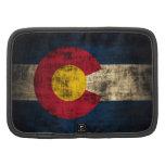 Bandera de Colorado del Grunge Organizador