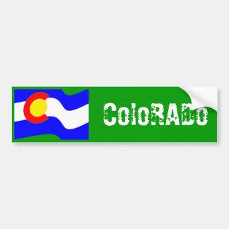 Bandera de Colorado Etiqueta De Parachoque