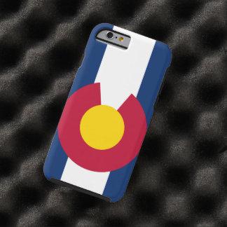 Bandera de Colorado Funda De iPhone 6 Tough