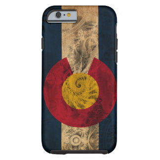 Bandera de Colorado Funda De iPhone 6 Tough