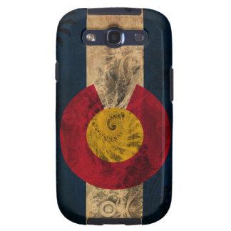 Bandera de Colorado Galaxy S3 Cárcasas