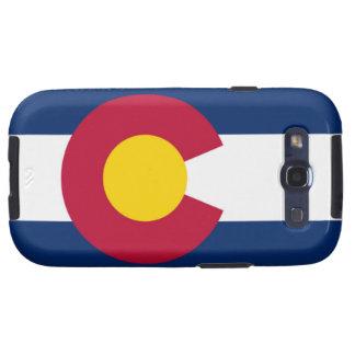Bandera de Colorado Galaxy SIII Carcasa