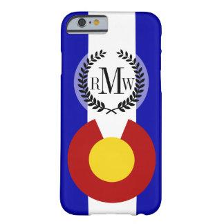 Bandera de Colorado Funda Para iPhone 6 Barely There