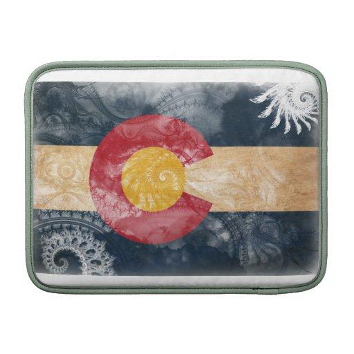 Bandera de Colorado Fundas MacBook