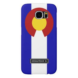 Bandera de Colorado Fundas Samsung Galaxy S6