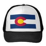 Bandera de Colorado Gorras