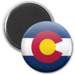 Bandera de Colorado Imanes De Nevera