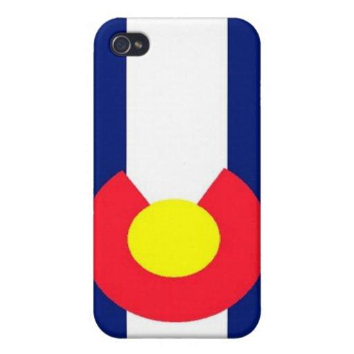Bandera de Colorado iPhone 4/4S Carcasas