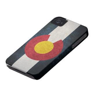 Bandera de Colorado iPhone 4 Cárcasa