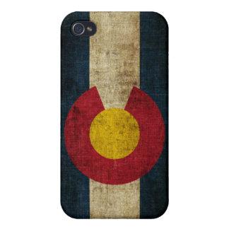 Bandera de Colorado iPhone 4 Carcasas