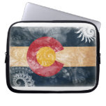 Bandera de Colorado Mangas Portátiles