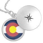 Bandera de Colorado Medallón