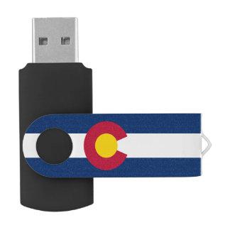 Bandera de Colorado Memoria USB 2.0 Giratoria