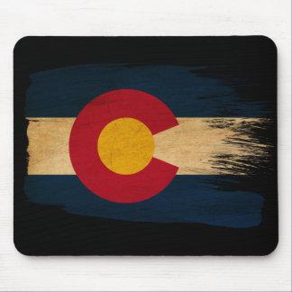Bandera de Colorado Mouse Pads