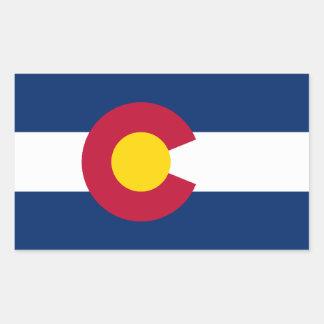 Bandera de Colorado Rectangular Altavoces