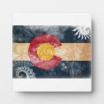 Bandera de Colorado Placas De Madera