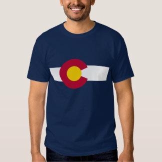 Bandera de Colorado Playera