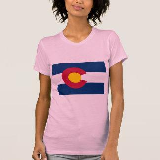 Bandera de Colorado Tshirt