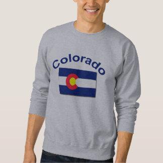 Bandera de Colorado Pulover Sudadera