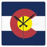 Bandera de Colorado Reloj