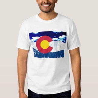Bandera de Colorado Remeras