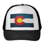 Bandera de Colorado rústica Gorros